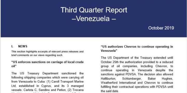 (English) Third Quarter Report October 2019