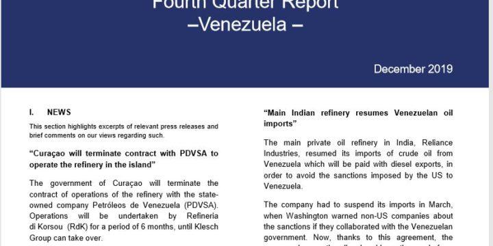(English) Fourth Quarter Report Venezuela December 2019